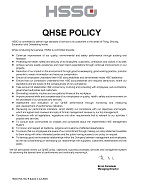 Annexure III QHSE Policy